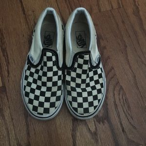 Vans Black/White Kids